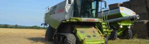Combine Harvester at Newgrange Gold