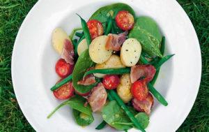 New Potato Salad With Honey & Rapeseed Dressing