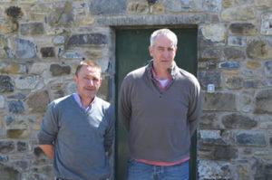 Ian Downey & Tommy Gorman from Newgrange Gold
