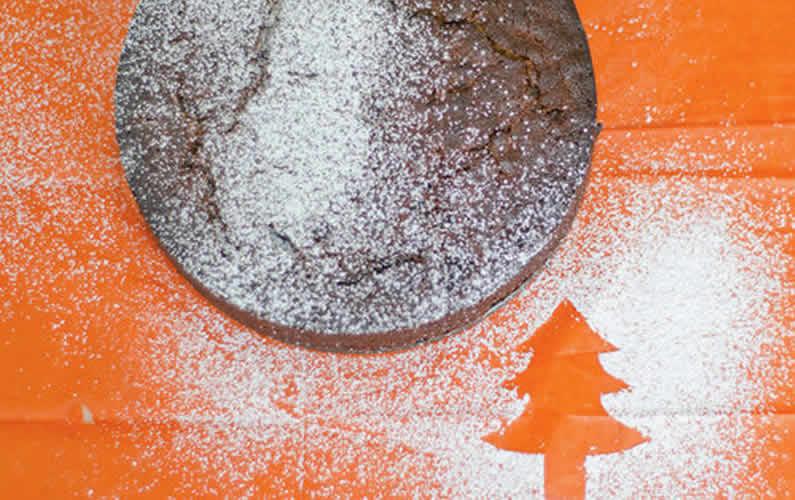 Heart Healthy Christmas Cake