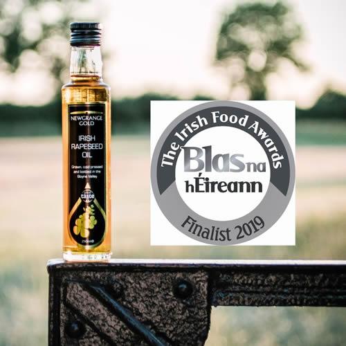Newgrange Gold Finalist in 2019 Blas Na hEireann Finals