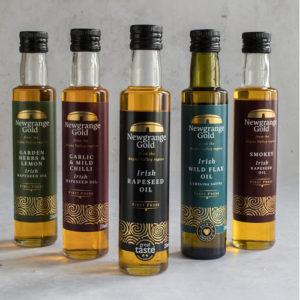 Newgrange Gold Bottles of Rapeseed & Camelina Oil