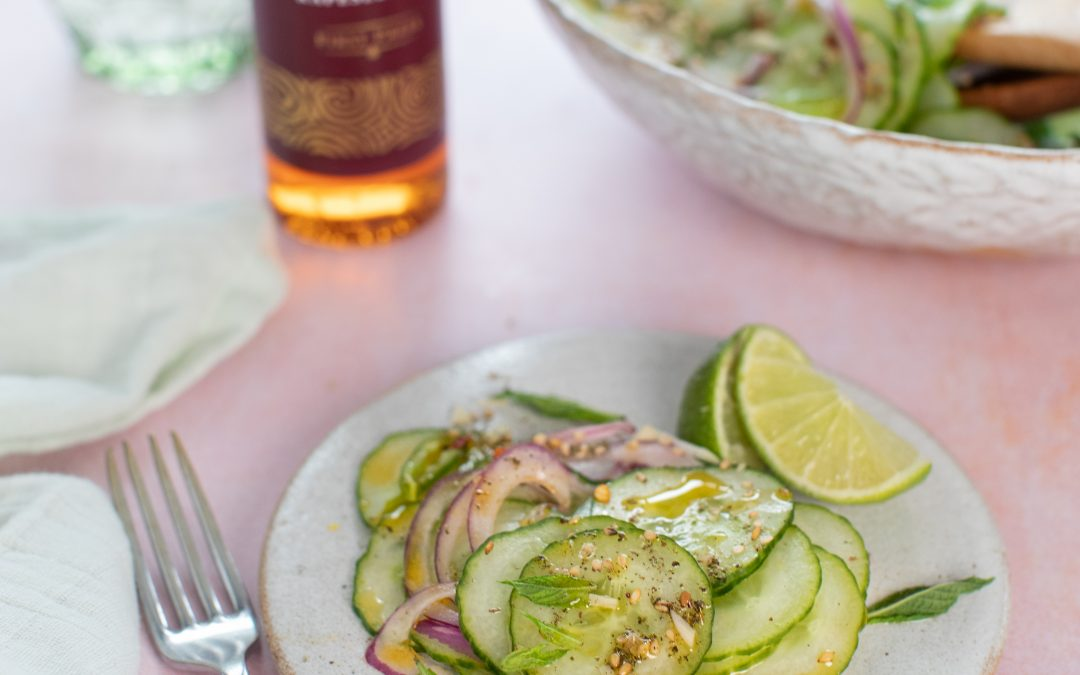 Cucumber Salad with Chilli and Lime