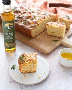 Irish Soda Bread Focaccia Style