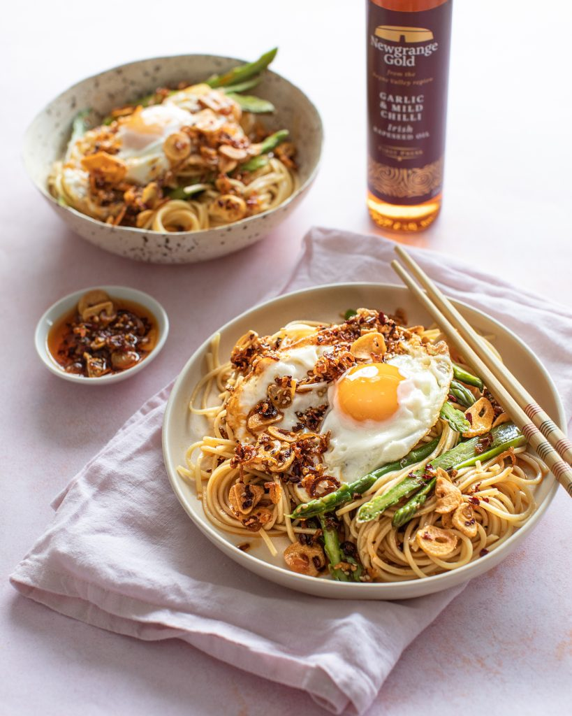 Noodles with Crispy Garlic and Shallot Chilli Oil 2